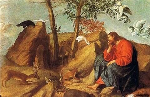 Đức Giêsu chịu cám dỗ trong Tin Mừng