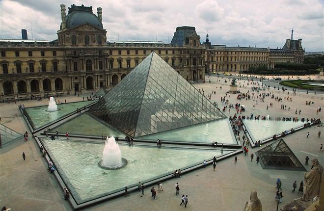Viện Bảo Tàng Louvre Paris