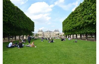 Vườn Luxembourg ở Paris