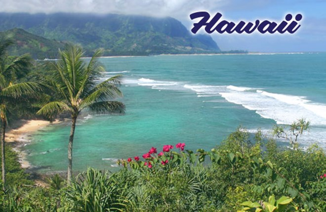 Hawaï (Hạ Uy Di) USA