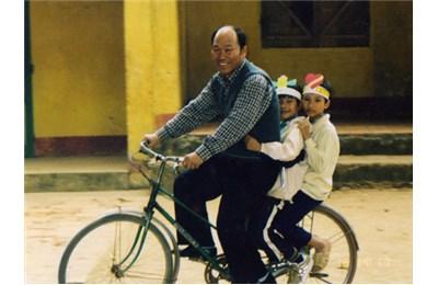 'Ông Bụt' người Hàn của trẻ em Việt