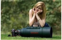 Ống kính chụp rõ mặt người cách xa 57 km