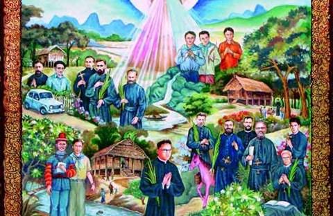 Các vị Tử đạo tại nước Lào
