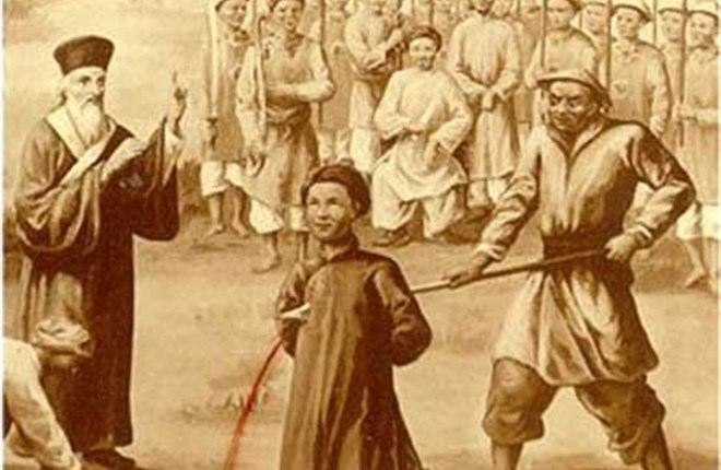 Thầy giảng Anrê Phú Yên và tước hiệu Tử đạo tiên khởi