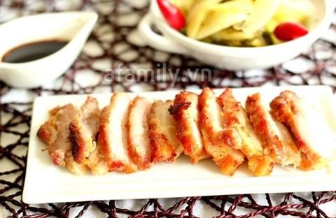 Thịt heo muối sả - cả nhà khen ngon !