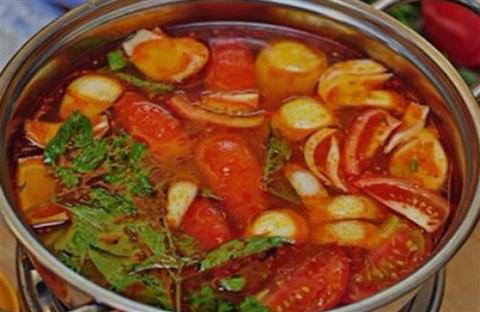 Lẩu Thái chua cay nồng vị hải sản