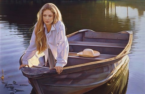 Vẻ đẹp phụ nữ trong tranh Danielle Richard