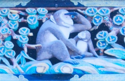 Chuyện ba chú khỉ Nikko, Nhật Bản