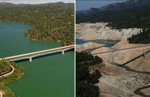 Những bức ảnh cho thấy Trái Đất thay đổi đến khó tin do biến đổi khí hậu