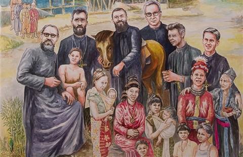 Niềm vui cho Giáo Hội Lào : 17 vị tử đạo được tuyên chân phước