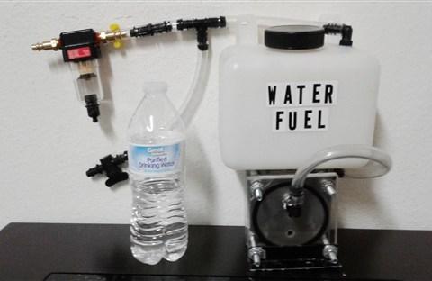 Một người Việt ở Mỹ ứng dụng thành công động cơ chạy bằng 100% nước lã ?