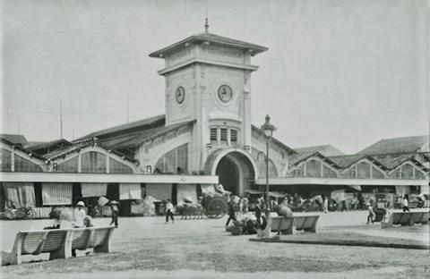 Chợ Bến Thành những năm 20 của thể kỷ XX