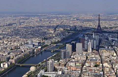 Nước Pháp nhìn từ trên không