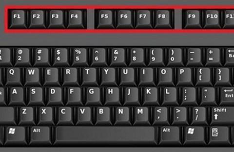 Công dụng các phím F1 đến F12
