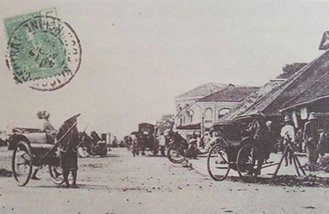 Chợ cũ ở Sài Gòn