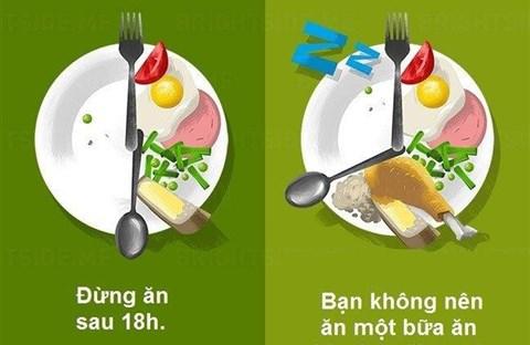 Những Quan Niệm Sai Lầm Về Ăn Uống