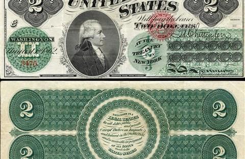17 điều thú vị về tờ tiền 2 USD