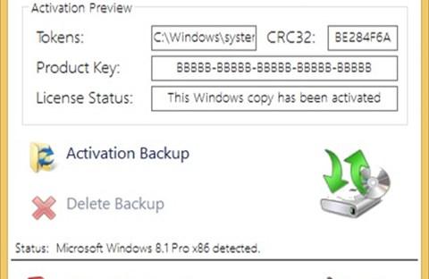 Cách sao lưu, phục hồi bản quyền Windows và Office