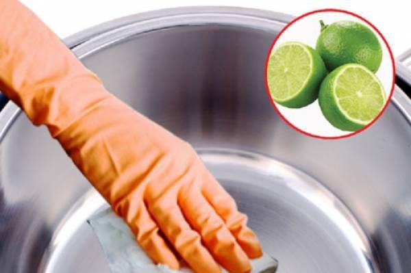 Làm sạch vật dụng hiệu quả với trái chanh - 1