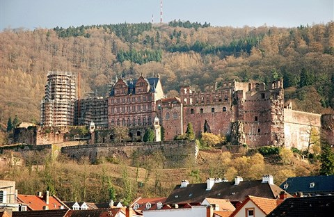 Lâu đài Heidelberg - dấu ấn kiến trúc và lịch sử nước Đức