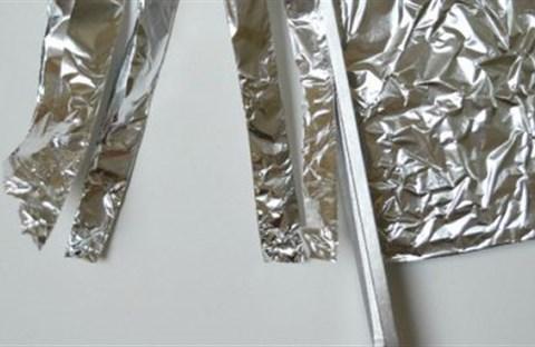 Mẹo vặt từ giấy bạc