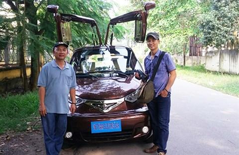 Người thợ chưa học hết lớp 9 chế tạo ôtô 'Made in Vietnam'