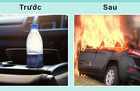 Thói quen này có thể làm cho chiếc xe phát lửa
