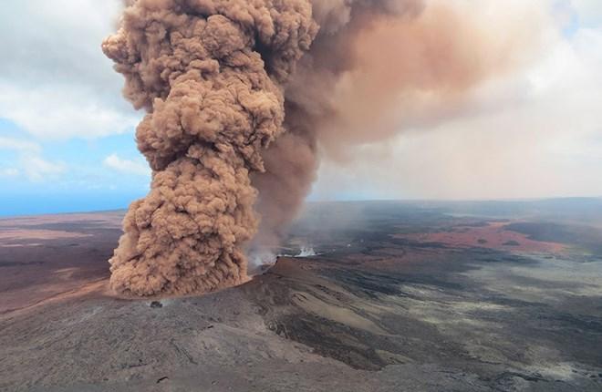 Núi lửa Kilauea (Hawai - USA 2018)