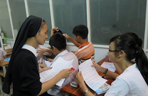Nữ Tu Đức Bà và những ấp ủ cho trẻ khuyết tật