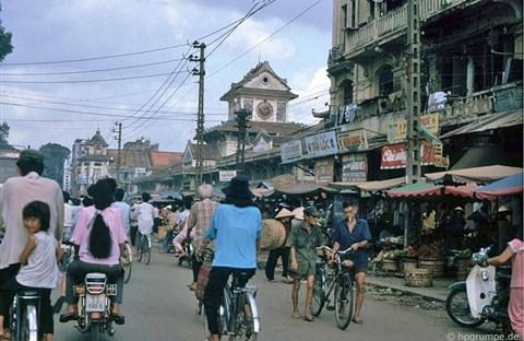 Chợ Bình Tây người Hoa Chợ Lớn xưa