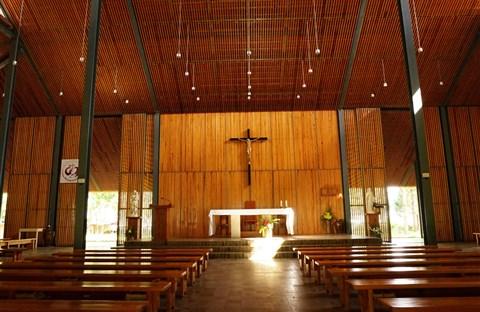 Nhà thờ Ka Đơn - linh hồn Churu giữa rừng Lâm Viên