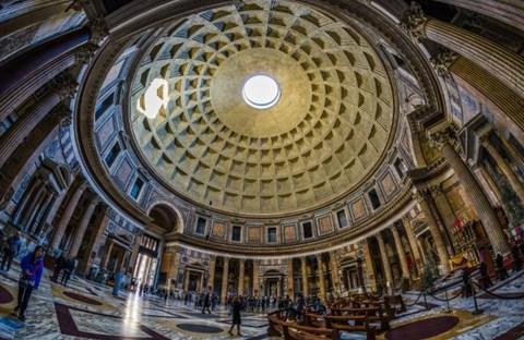 Đền Pantheon: Kỳ quan kiến trúc cổ đại – Ngôi đền của các vị thần