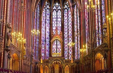 """Nhà thờ """"La Sainte Chapelle"""": Một kỳ công kiến trúc thời Trung Đại"""