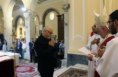 Hành trình ơn gọi của tân linh mục Nicola Pacetta kéo dài 43 năm.