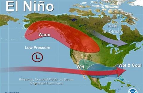 Hiện tượng El Niño ảnh hưởng tới thời tiết như thế nào?