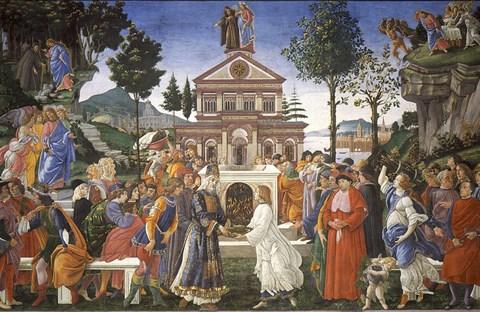 Chuyện chúa Giêsu vượt qua cám dỗ của ác quỷ qua tranh Phục Hưng