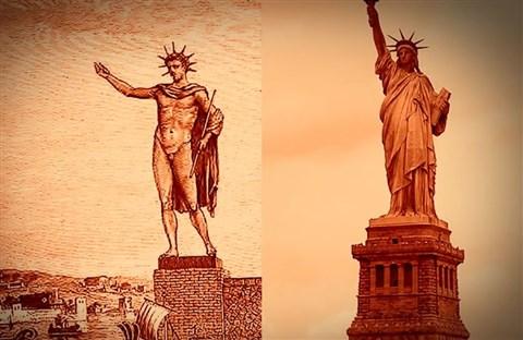 Lịch sử tượng Thần Mặt Trời ở Rhodes