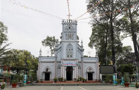 Nhà thờ lâu đời nhất vùng đất Thủ Đức