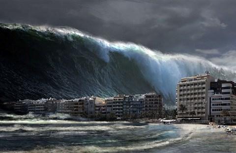 Tìm hiểu về sóng thần, cách một trận sóng thần được tạo thành