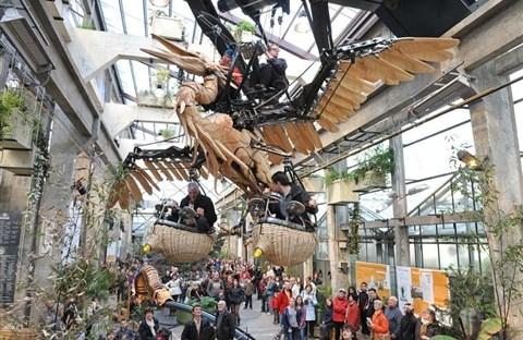 Công viên động vật máy kỳ thú ở Nantes, Pháp