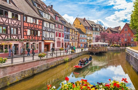 Colmar: Thị trấn cổ tích nước Pháp