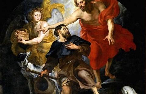 Lòng từ bi không sợ hãi trong đại dịch qua chuyện Thánh Roch