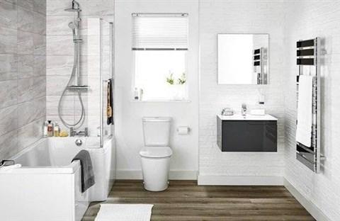Mẹo  giúp phòng tắm luôn sạch sẽ