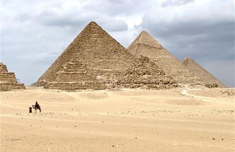 Pyramics, kiến trúc lạ lùng của Ai Cập