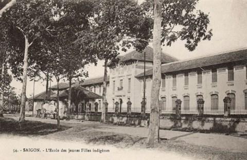 Trường Áo Tím Sài Gòn ngày xưa