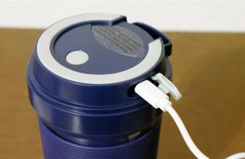 Máy xay sinh tố siêu nhỏ có thể sạc bằng cổng USB
