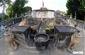 Những hình ảnh kể sự tích ở lăng Tả quân Lê Văn Duyệt