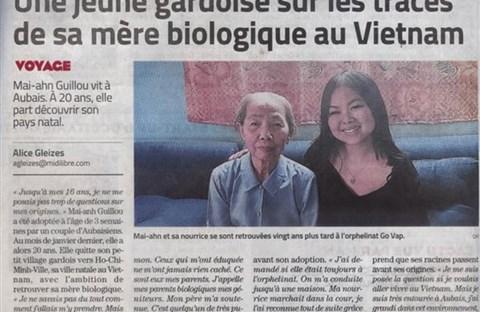 Thiếu nữ Pháp gốc Việt bị bỏ rơi kiên trì tìm mẹ ruột