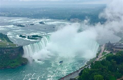 Niagara Falls, thác nước vĩ đại vùng Bắc Mỹ