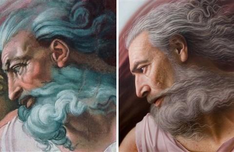 Chiêm ngưỡng những chân dung nổi tiếng được vẽ lại bằng phong cách cực thực (hyperrealistic)
